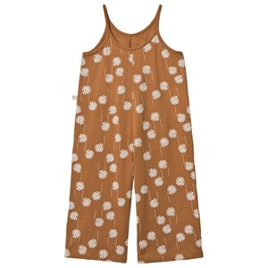 MAINIO Flower Power Jumpsuit Bone Brown 122/128 cm