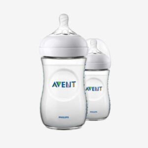 Philips avent 2 pack sutteflasker - Natural - 260 ml.