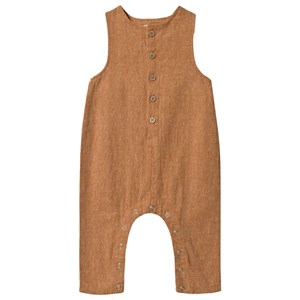 Rylee + Cru Button Jumpsuit Bronze 18-24 mdr