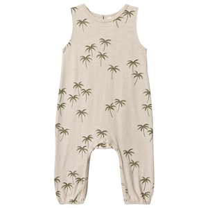 Rylee + Cru Palm Mills Jumpsuit Natural 18-24 mdr