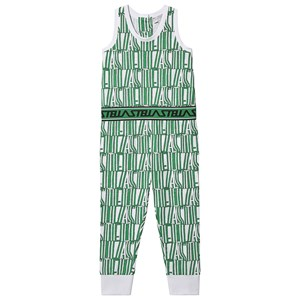 Stella McCartney Kids Grafisk Print Jumpsuit Grøn 5 years