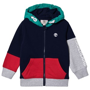 Timberland Colour Block Small Tree Logo Full Zip Hættetrøje Z40 8 years