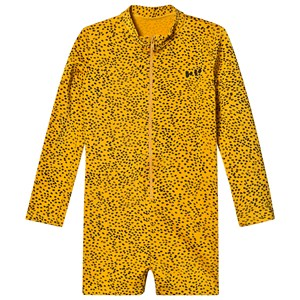 Bobo Choses Leopard Badedragt Spectra Yellow 2-3 Years