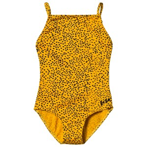 Bobo Choses Leopard Badedragt Spectra Yellow 4-5 Years