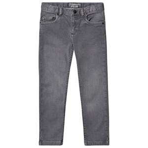 Bonpoint Stretch 5 Lomme Jeans Grå Vask 8 years