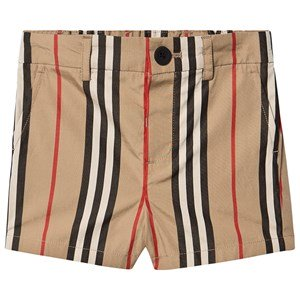 Burberry Icon Stribede Shorts Archive Beige 12 months