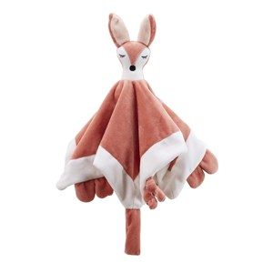 Kids Concept Fox Character Baby Comforter One Size