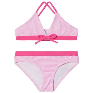 Melissa Odabash Pink with Hot Pink Trim Sky Triangle Bikini 4 years