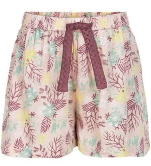 Minymo Shorts - Peach Whip m. Blomster