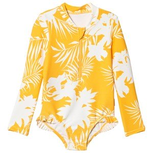 Seafolly Mini Me Wild Tropics Badedragt Saffron 3 years
