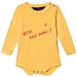 The Animals Observatory Wasp Baby Body Gul/We're Good Animals 12 Months