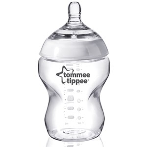 Tommee Tippee Tommee Tippee, Sutteflaske 260 ml, Transparent One Size