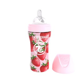 Twistshake Anti-Colic 330 ml Sutteflaske Strawberry One Size