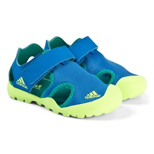 adidas Performance Captain Toey Sandaler Blå/Neon Grøn 32 (UK 13.5)