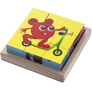Babblarna Cube Puzzle 9 Pieces 12 months - 3 years