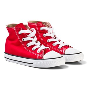 Converse Red Chuck Taylor All Star High Top Trainers 20 (UK 4)