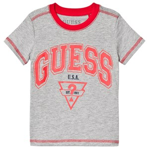 Guess Branded T-Shirt Gray 2 years