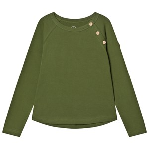 Gullkorn Design Villvette T-Shirt Pesto Green 110 cm (4-5 Years)