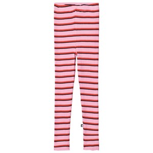 Molo Nikita Leggings Pink Red Stripe 92/98 cm