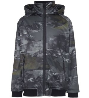Molo Softshelljakke - Cloudy - Mountain Camo