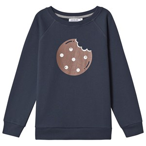 One We Like Cookie sweatshirt Midnight Blue 2 år (86/92 cm)