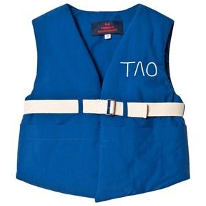 The Animals Observatory Lamb Vest Blue Tao 8 Years