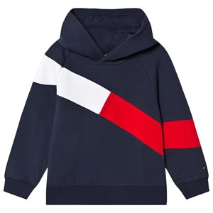 Tommy Hilfiger Colorblock Flag Hoodie Navy 92 (18-24 months)