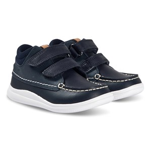 Clarks Cloud Tuktu Sneakers Navy Leather 29 (UK 11)