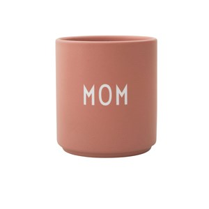 Design Letters Favorite Mom Kop Nude One Size