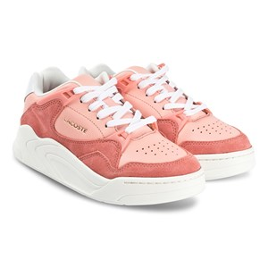 Lacoste Court Slam Sneakers Pink og Off White 39.5 (UK 6)