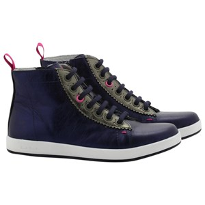 Paul Smith Junior Rabbit Hi-Tops Sneakers Blue 30 (19cm)