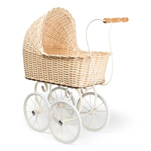 STOY Dollstroller Rattan Natural 3+ years