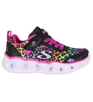 Skechers Sko - Girls Heart Lights - Multifarvet