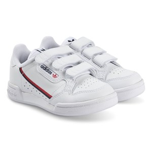 adidas Originals Continental 80 Kids Velcro Sneakers Hvid 32 (UK 13.5)