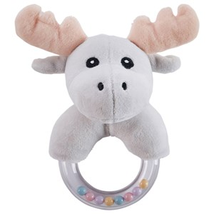 Kids Concept Moose Character Teething Rattle One Size