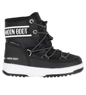Moon Boot Vinterstøvler - Tex - Jr Mid WP - Sort