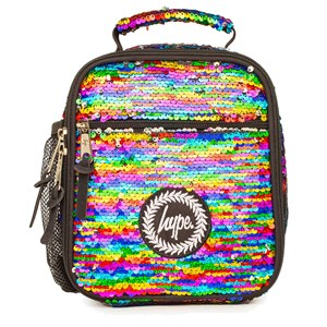 Hype Rainbow Sequin Madkasse Blå One Size