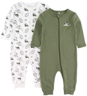 Name It Natdragter - 2-pak - Noos - NbmNightsuit - Loden Green