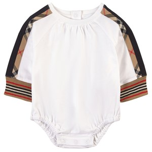 Burberry Kim Baby Body White/Archive Beige 1 mdr