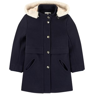 Chloé Wool and polyamide broadcloth coat 3 år