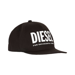 Diesel Branded Baseball Kasket Sort 12-16 years