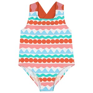 Stella McCartney Kids Graphic Stripes Badedragt Multifarvet 3 år
