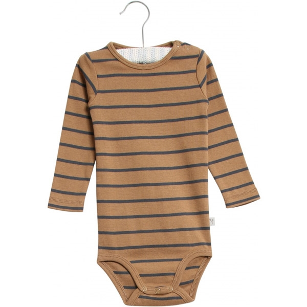 Wheat Caramel Stripe Body