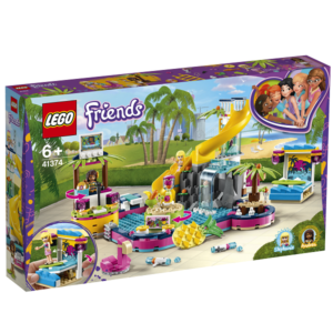 Andreas poolparty - 41374 - LEGO Friends
