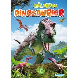 Egmont Kärnan Dinosaurs Coloring and Puzzle Book Set 3 - 8 years