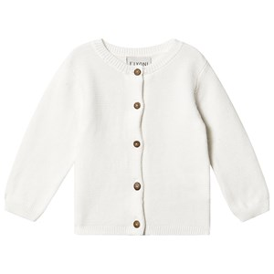 Fixoni Knit Cardigan Off White 74 cm (6-9 mdr)