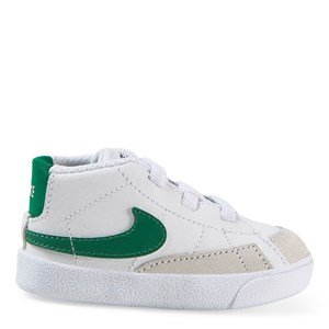 NIKE Blazer Mid Crib Shoes White 18.5 (UK 2.5)