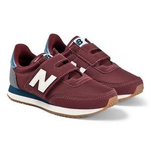 New Balance Velcro Sneakere Burgundy/Blue 32 (UK 13)
