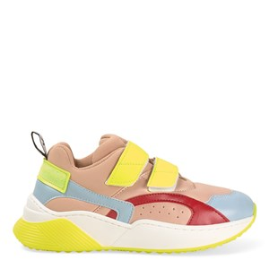 Stella McCartney Kids Eclipse Velcro Strap Sneakers Multicolor 31 (UK 12.5)