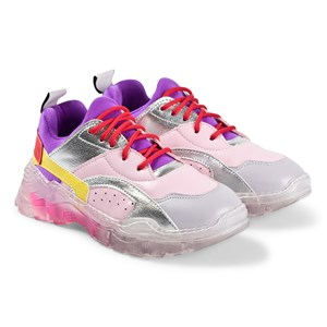 Stella McCartney Kids Multicolor Sneakere Lyserøde 34 (UK 2)